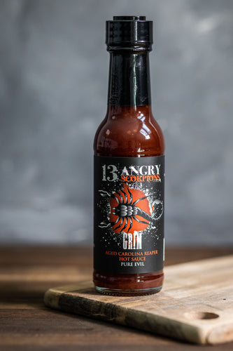 GRIM - Aged Carolina Reaper Louisiana Style Hot Sauce - People's Choice Award Winner