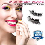 Self-adhesive 3D false eyelashes
