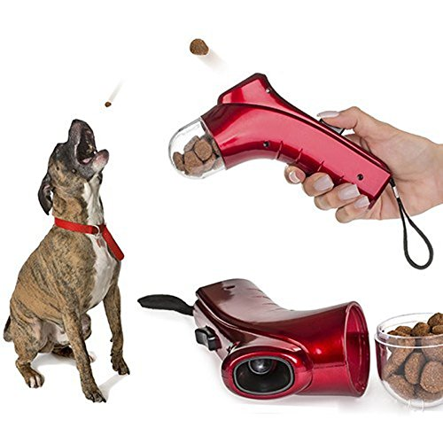 Pet food thrower|Pet train tool