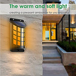 Flame wall light 66LED outdoor wall light