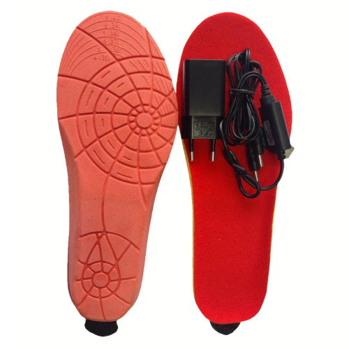 [Promotion] Warm Heated insoles with remote control warm shoes mAh battery 1800 pads for Skiing / Camping