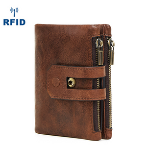 Anti-RFID multi-card wallet fashion casual wallet