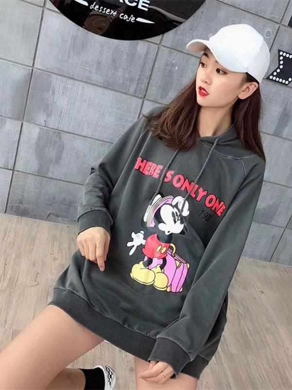 long cotton comfortable hoodie