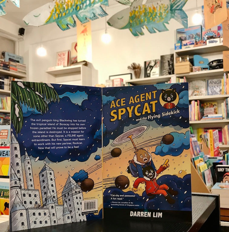 Book Review: Ace Agent Spycat and the Flying Sidekick