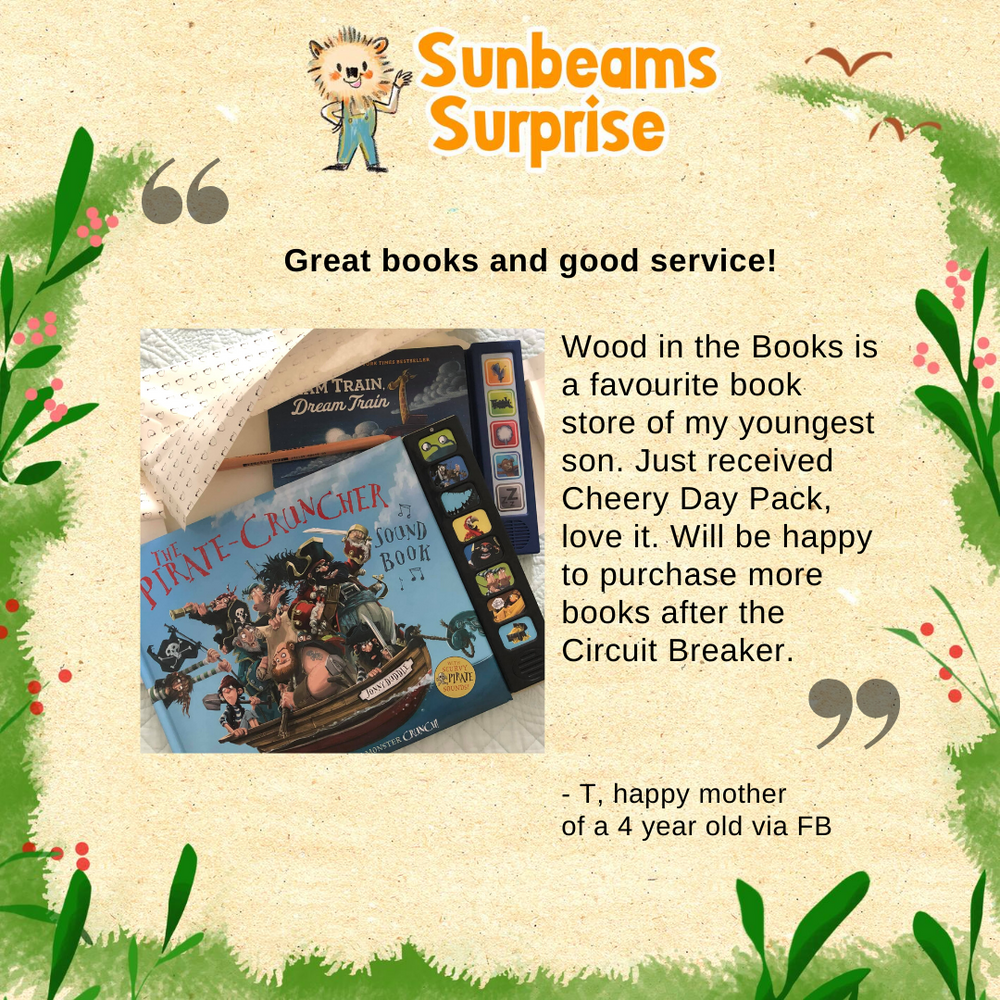 Woods in the Books Sunbeams Surprise customer review