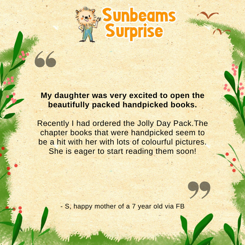 Sunbeams Surprise: Jolly Day Pack