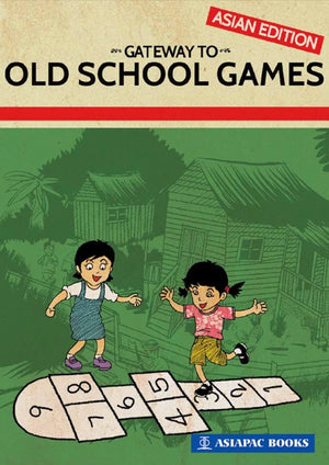 Cover for illustrated non-fiction book 'Gateway to Old School Games'