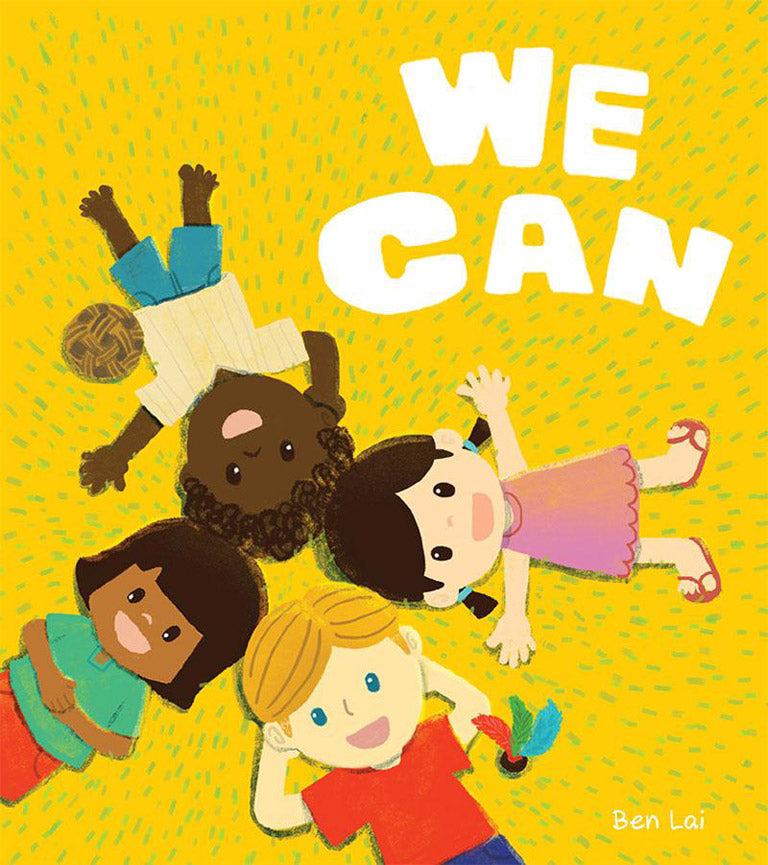 Cover of board book 'We Can' by Ben Lai