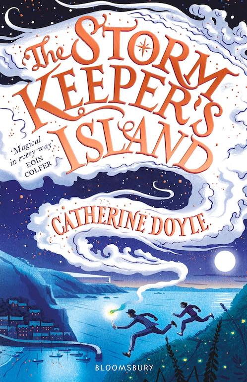 Cover of chapter book 'The Storm Keeper's Island' by Catherine Doyle