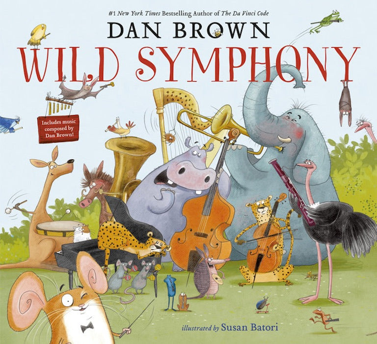 Cover of picture book 'Wild Symphony' by Dan Brown and Susan Batori