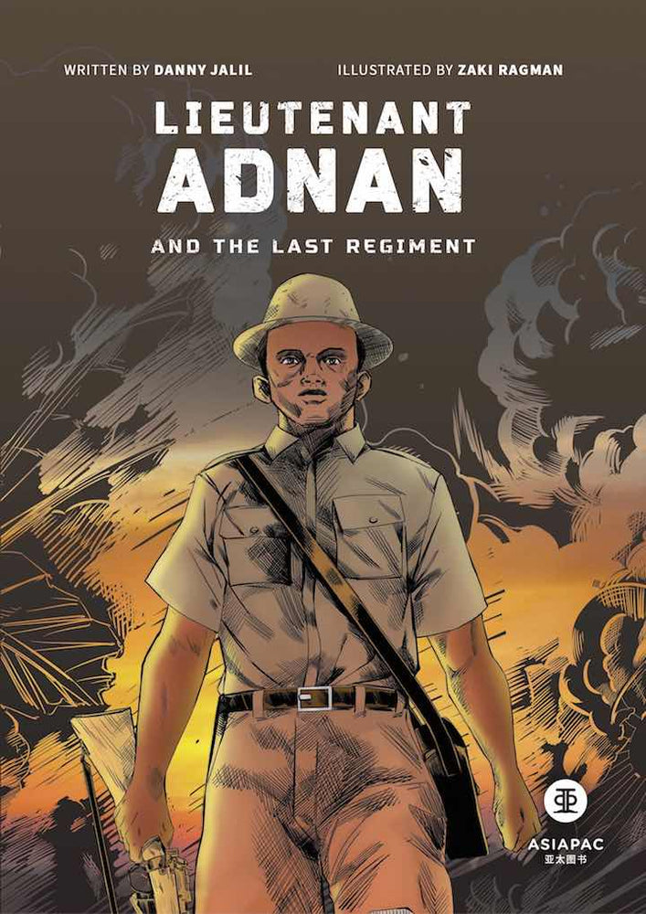 Cover of graphic novel 'Lieutenant Adnan and the Last Regiment' by Danny Jalil and Zaki Ragman
