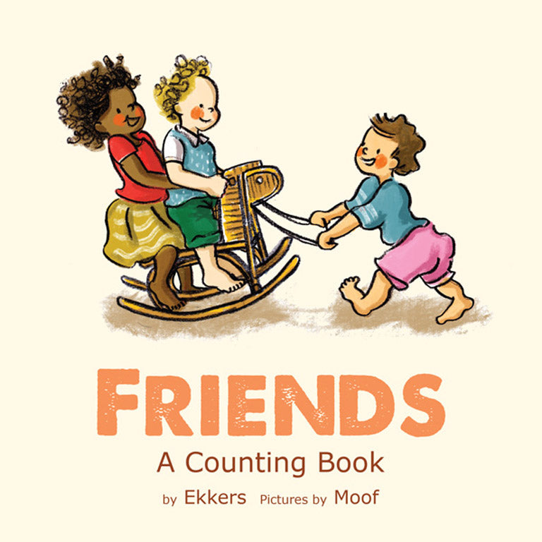 Cover of picture book 'Friends: A Counting Book' by Ekkers and Moof