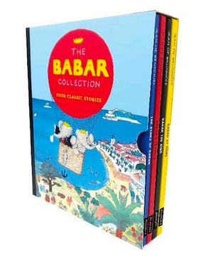 Slipcase cover of 'The Babar Collection' by Jean de Brunhoff