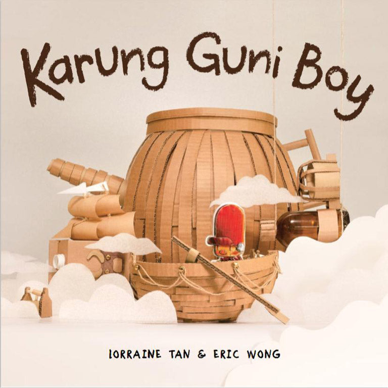 Cover of picture book 'Karung Guni Boy' by Lorraine Tan and Eric Wong