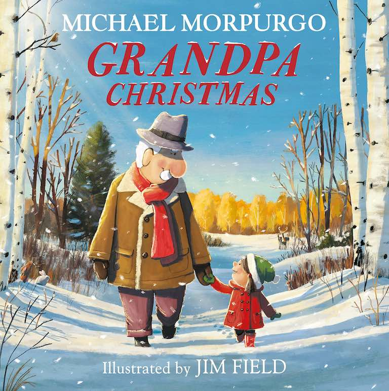 Cover of picture book 'Grandpa Christmas' by Michael Morpurgo and Jim Field