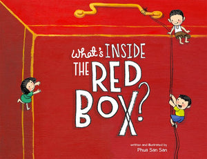 Cover of picture book 'What's Inside the Red Box?' by Phua San San
