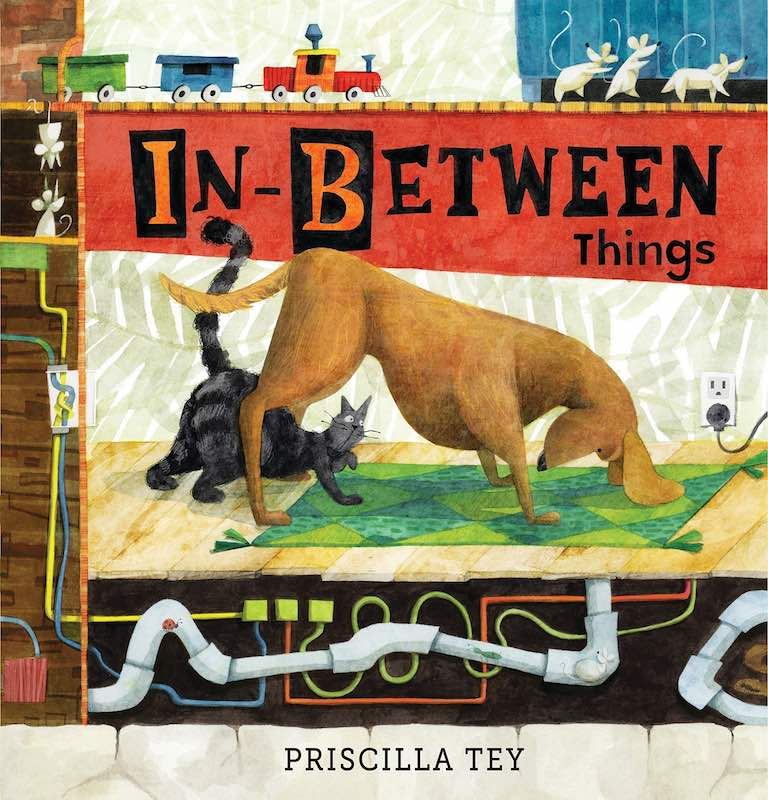 Cover of picture book 'In-Between Things' by Priscilla Tey