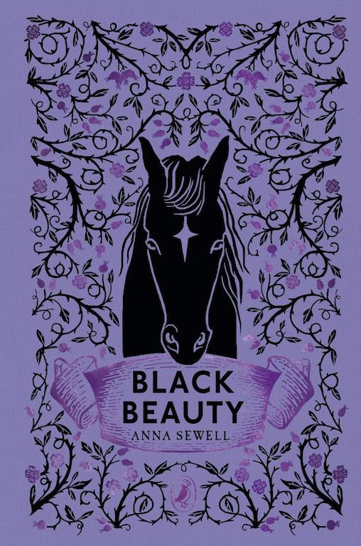 Cover of Puffin Clothbound Classics edition of 'Black Beauty' by Anna Sewell