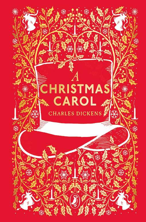 Cover of Puffin Clothbound Classics edition of 'A Christmas Carol' by Charles Dickens