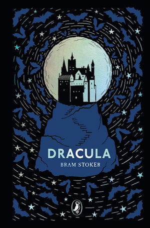 Cover of Puffin Clothbound Classics edition of 'Dracula' by Bram Stoker