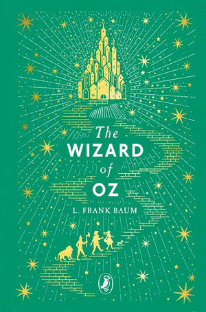 Cover of Puffin Clothbound Classics edition of 'The Wizard of Oz' by L. Frank Baum
