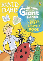 James and the Giant Peach Sticker Activity Book (Roald Dahl Activity Book)