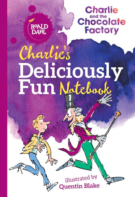 Charlie's Deliciously Fun Notebook (Roald Dahl Activity Book)