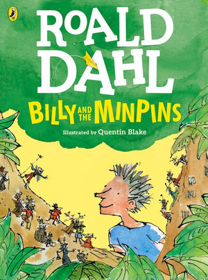 Cover of chapter book 'Billy and the Minpins' by Roald Dahl and Quentin Blake