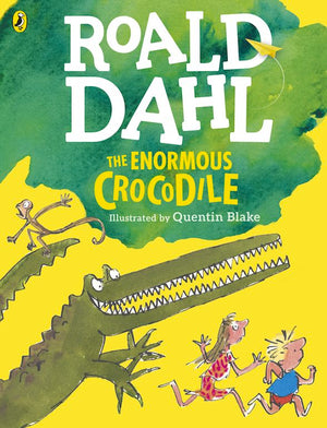 Cover of chapter book 'The Enormous Crocodile' by Roald Dahl and Quentin Blake