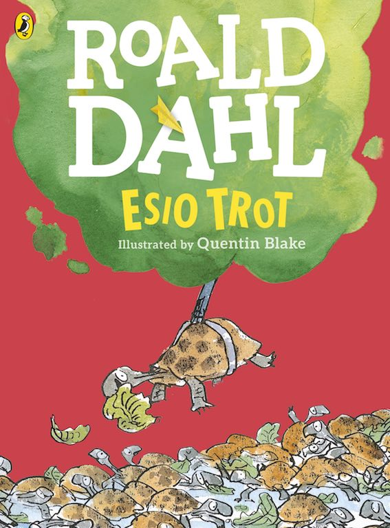 Cover of chapter book 'Esio Trot' by Roald Dahl and Quentin Blake