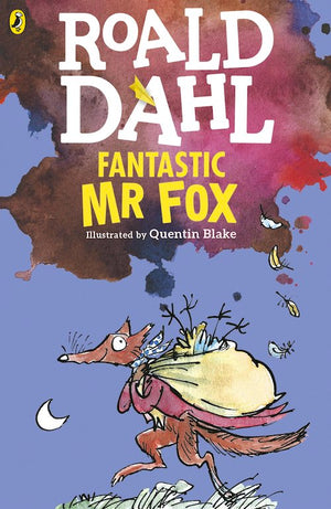 Cover of chapter book 'Fantastic Mr Fox' by Roald Dahl and Quentin Blake