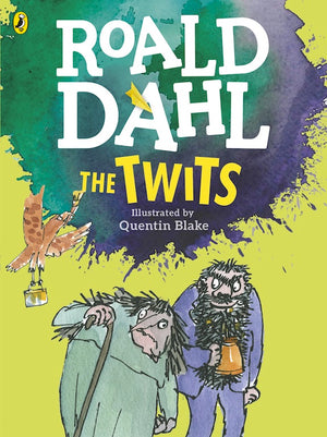 Cover of chapter book 'The Twits' by Roald Dahl and Quentin Blake