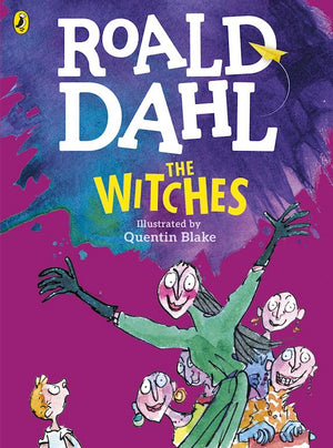 Cover of chapter book 'The Witches' by Roald Dahl and Quentin Blake