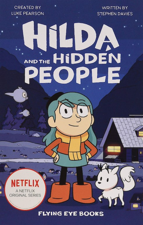 Cover of chapter book 'Hilda and the Hidden People' by Stephen Davies and Seaerra Miller