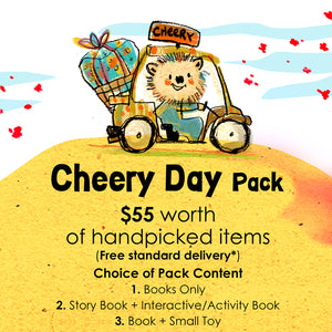 Woods in the Books Sunbeams Surprise Cheery Day Pack illustration by Moof