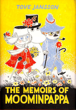 Cover of chapter book 'The Memoirs of Moominpappa' by Tove Jansson