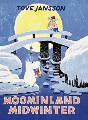 Cover of chapter book 'Moominland Midwinter' by Tove Jansson