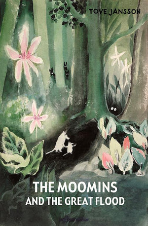 Cover of chapte book 'The Moomins and the Great Flood' by Tove Jansson