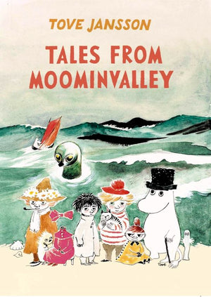Cover of chapter book 'Tales from Moominvalley' by Tove Jansson