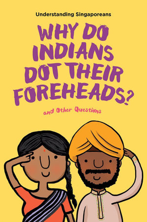 Cover of non-fiction book 'Why Do Indians Dot Their Foreheads?'