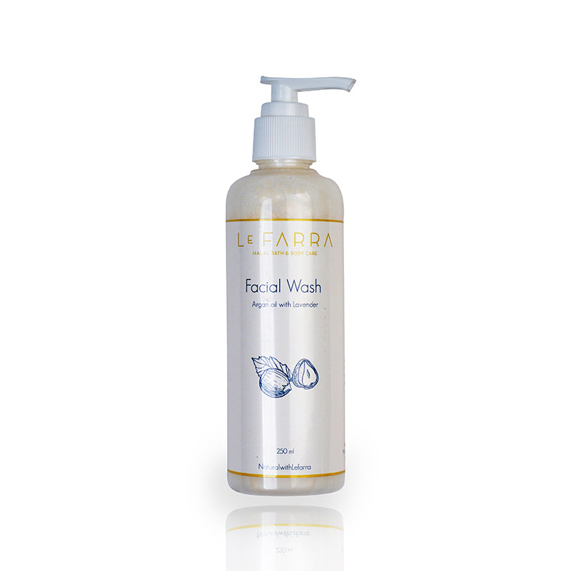 ARGAN OIL-LAVENDER FACIAL WASH