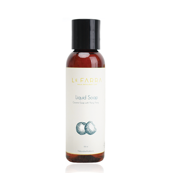 COCONUT YLANG YLANG LIQUID SOAP
