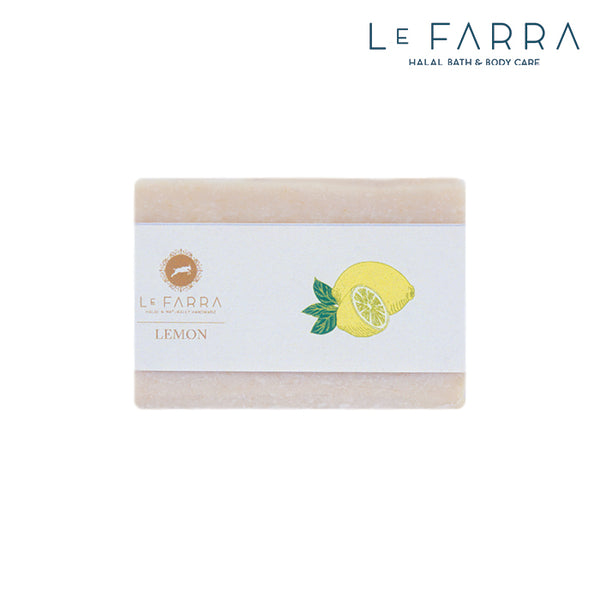 LEMON ESSENTIAL GOAT MILK SOAP