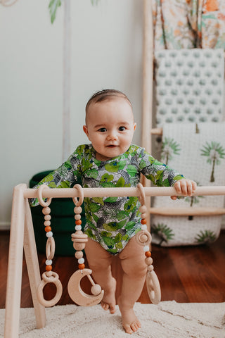 Jungle Baby Boy Outfit