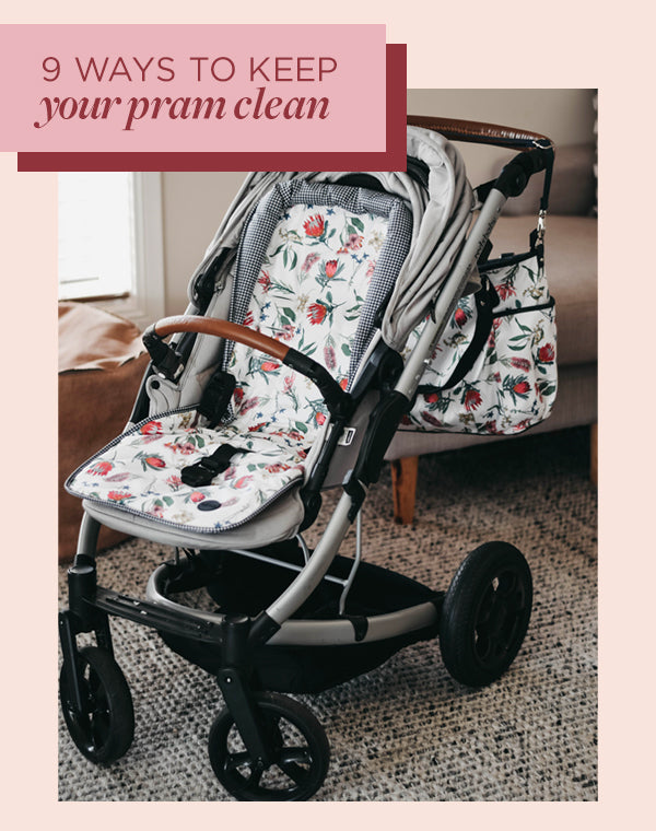 how to keep my pram clean
