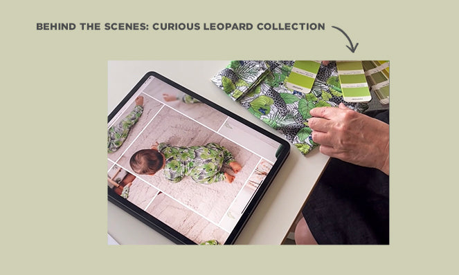 behind the scenes curious leopard