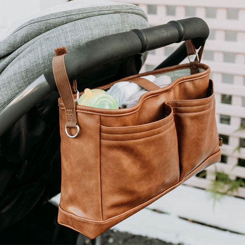 tan pram caddy