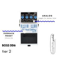 Boss DD6 Digital Delay Mods