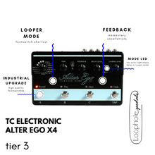 TC Electronic Alter Ego x4 Mods