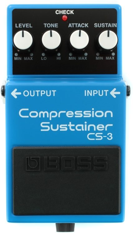 Boss CS3 Compressor Sustainer Mods